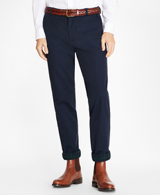 Clark Fit Flannel Lined Chinos