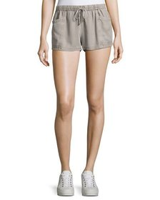 On the Road Jam Drawstring-Waist Shorts