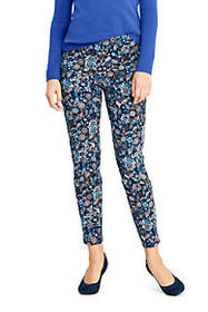 Women's Mid Rise Bi-Stretch Pull On Ankle Pants