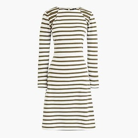 J.Crew 365 knit fit-and-flare dress in stripe