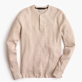 Tall Wallace & Barnes thermal henley