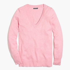 factory womens Cotton V-neck sweater