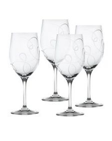 Crystal Goblets, Set of 4