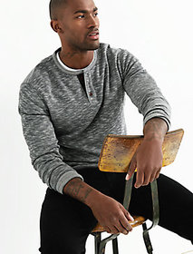 Double Knit Heather Henley