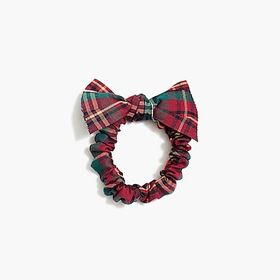 Bow-top scrunchie