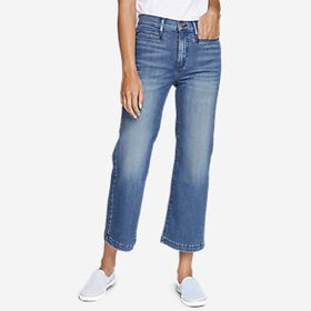 Women's Elysian Wide-Leg High-Rise Jeans
