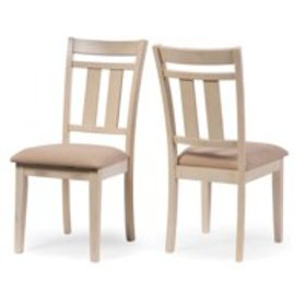 Baxton Studio Roseberry Dining Chair - Set of 2