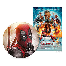 Deadpool 2 Score Vinyl LP with Exclusive Poster
