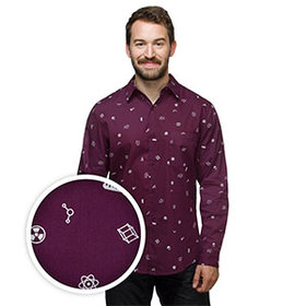 In the Lab Long Sleeve Button-Down Shirt