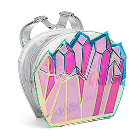 Quartzy Holographic Backpack