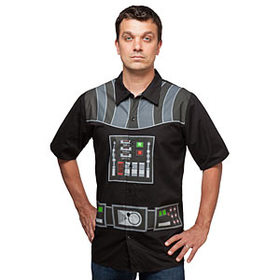 Star Wars I Am Vader Short Sleeve Button-Up - Excl