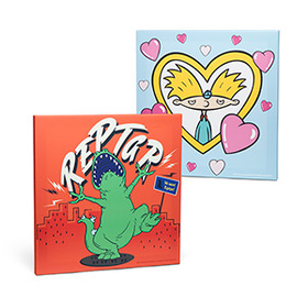Nickelodeon Hey Arnold! & Rugrats Canvas Set - Exc