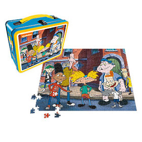 Hey Arnold Lunch Box with 500pc Puzzle - Exclusive
