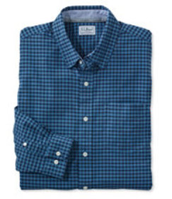 L.L.Bean Stretch Oxford Shirt, Slightly Fitted Gin