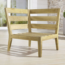 Regatta Natural Corner Chair
