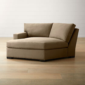Axis II Left Arm Angled Chaise Lounge