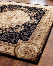 Safavieh Aubusson Night Rug 6' x 9'