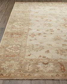Sandy Vines Oushak Rug 6' x 9'