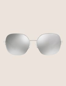 OVERSIZE CHROME SUNGLASSES