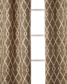 Sweet Dreams Argyle Curtain 96L