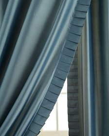 Home Silks Pair of 50W x 108L Simone Curtains