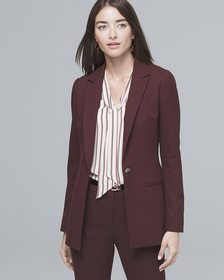 Luxe Suiting Longline Jacket