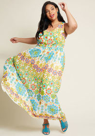 ModCloth ModCloth Muster the Length Maxi Dress in