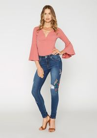 Tall Bella Floral Jeans