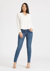 Emma Mid Rise Booty Enhancer Skinny Jeans