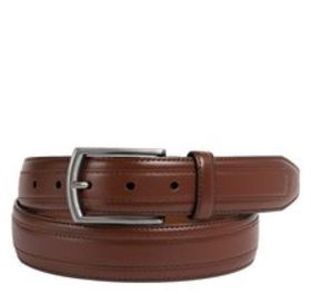 Leather Overlay Belt