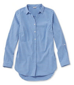 Stretch Travel Tunic Shirt, Stripe