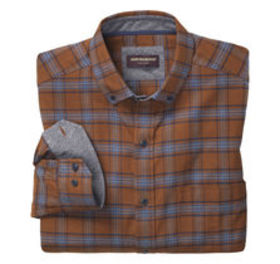 Brushed Heather Large Plaid Shirt