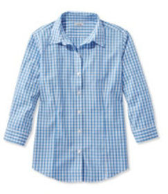 Wrinkle-Free Pinpoint Oxford Shirt, Three-Quarter