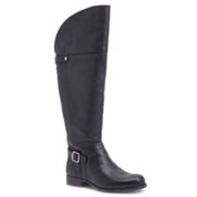 Womens Wide Calf Comfort Riding Boots