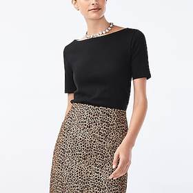 J. Crew Factory factory womens Perfect-fit open-ne
