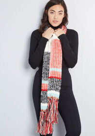 Freeze to Success Knit Scarf in Multi