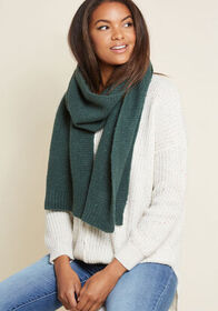 Totally Toasty Scarf in Green Green