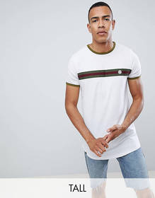 Le Breve TALL Chest Striped T-Shirt