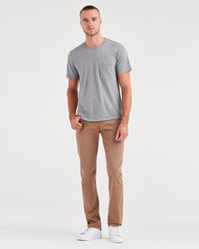 Total Twill The Straight with Clean Pocket in Rich