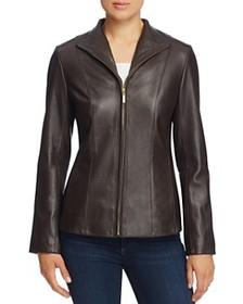 Cole Haan Cole Haan - Wing Collar Leather Jacket