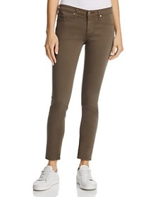 AG AG - Sateen Legging Ankle Jeans in Army Green -