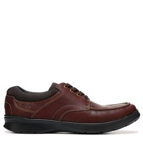 Clarks Men's Cotrell Edge Medium/Wide Moc Toe Oxfo