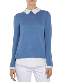 Ted Baker Ted Baker - Bronwen Layered-Look Sweater