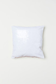 Sequined Cushion Cover