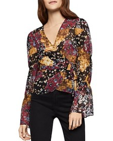 BCBGeneration BCBGeneration - Printed Wrap Top