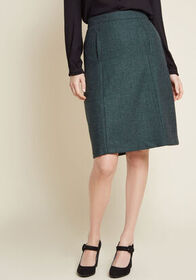 ModCloth ModCloth Teach and Every Day Wool Skirt i