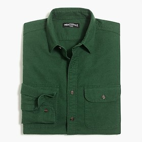 J. Crew Factory Rugged elbow-patch shirt