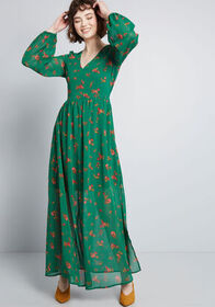 ModCloth ModCloth Blissful Beginnings Floral Maxi