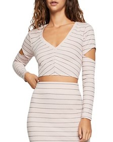 BCBGeneration BCBGeneration - Striped Cutout Cropp