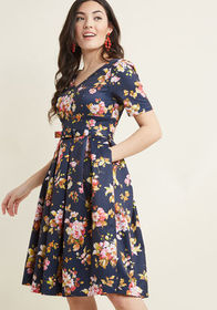 ModCloth ModCloth Elegant Instance Fit and Flare D